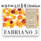 [FABRIANO]11.파브리아노5(중목) - 310x410mm(20매)