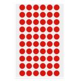 [예현] 좋은라벨/굿라벨/예현라벨/원형스티커/원형라벨 (빨강)