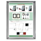 자석부착식액자-벽걸이형 (실버/A3)