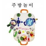 [펠트교구][주문품]주방놀이/요리놀이/요리사놀이