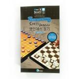 [명인랜드] 소형양면자석 체스+장기 (M-159)
