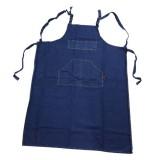 [산돌] 청기지(블루진)앞치마/미술용앞치마 XL (어깨끈)