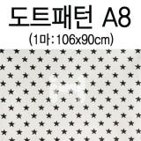 [퀼트천/면천]도트패턴(1마) - A8_7개남음