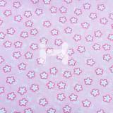 [옥양목]무늬천(1마) - 꽃 분홍