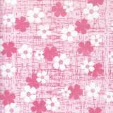 부직포롤포장지 - 플라워 핑크(50cm x 18m)_2롤남음