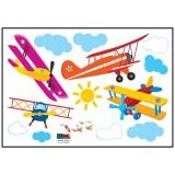 데코스티커/포인트스티커 - 58223.비행기(35x57cm)