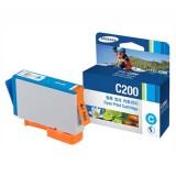 [삼성] 정품잉크 프린터잉크 카트리지 C200 / 파랑