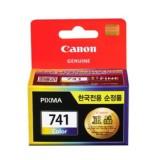 [캐논] 정품잉크 프린터잉크 카트리지 CL-741 / 칼라