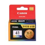 [캐논] 정품잉크 프린터잉크 카트리지 CL-41 / 칼라