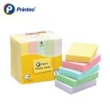 [프린텍] 포스트잇 A5138M 스티키노트 알뜰팩-파스텔혼합 100매 5EA 51x38