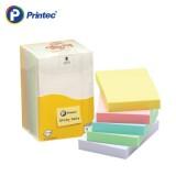 [프린텍] 포스트잇 A5176M 스티키노트 알뜰팩-파스텔혼합 100매 5EA 51x76