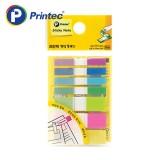 [프린텍] 포스트잇 FA4412-7N 팝업플래그 형광혼합7색