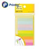 [프린텍] 포스트잇 PI040 종이인덱스 10색 50x10mm