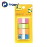 [프린텍] 포스트잇 IT3818-4N 팝업인덱스탭 형광4색 38x18mm