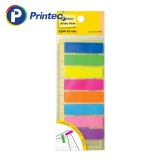 [프린텍] 포스트잇 FI020 필름인덱스 8색 45x12mm