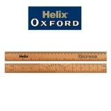 [Helix] 헬릭스 옥스포드 나무 자 30cm