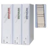 [아톰] B-2055 투명백색바인더 사다리바인더 A4 (70mm)