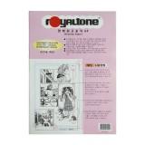 [royaltone] 고급만화원고용지 만화원고지 A4 (40매)
