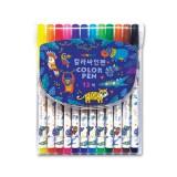 [문교]사파리 싸인펜세트 12색