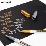[monami] 모나미 굵은글씨용 네임펜 (금색/은색)